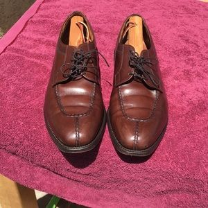Allen Edmonds Brewster leather brunished brown